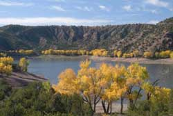 Pet friendly dog park in Taos, New Mexico: Santa Cruz Lake Recreational Area