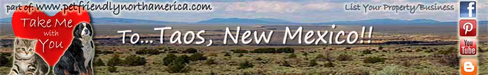 dog friendly vacation rentals in taos new mexico